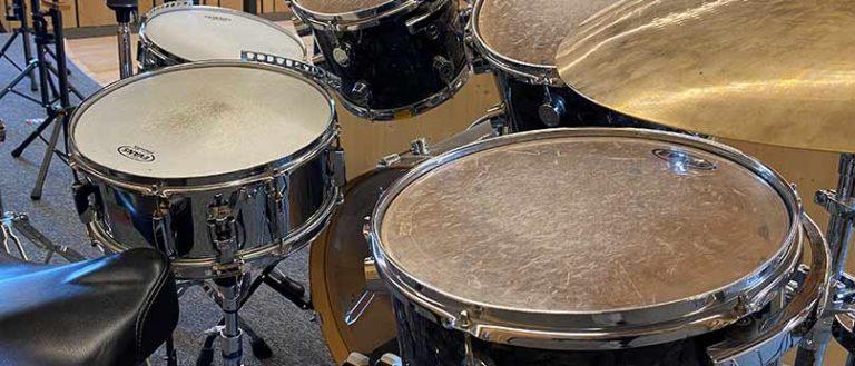 Polka, Marsch am Drumset