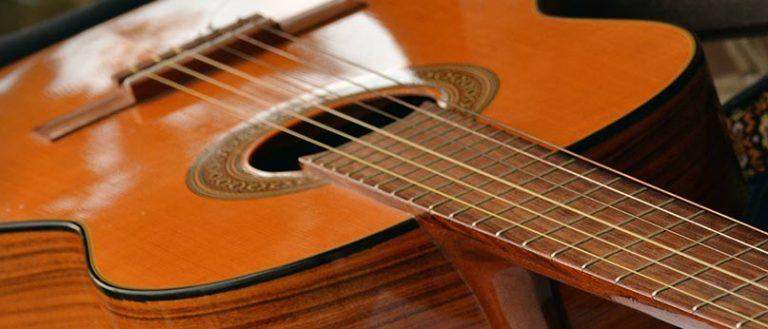 Gitarre zum Schnuppern