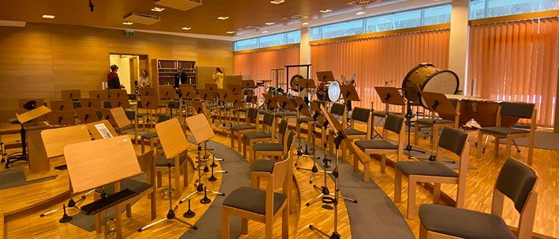 Aschau: Musikproberaum